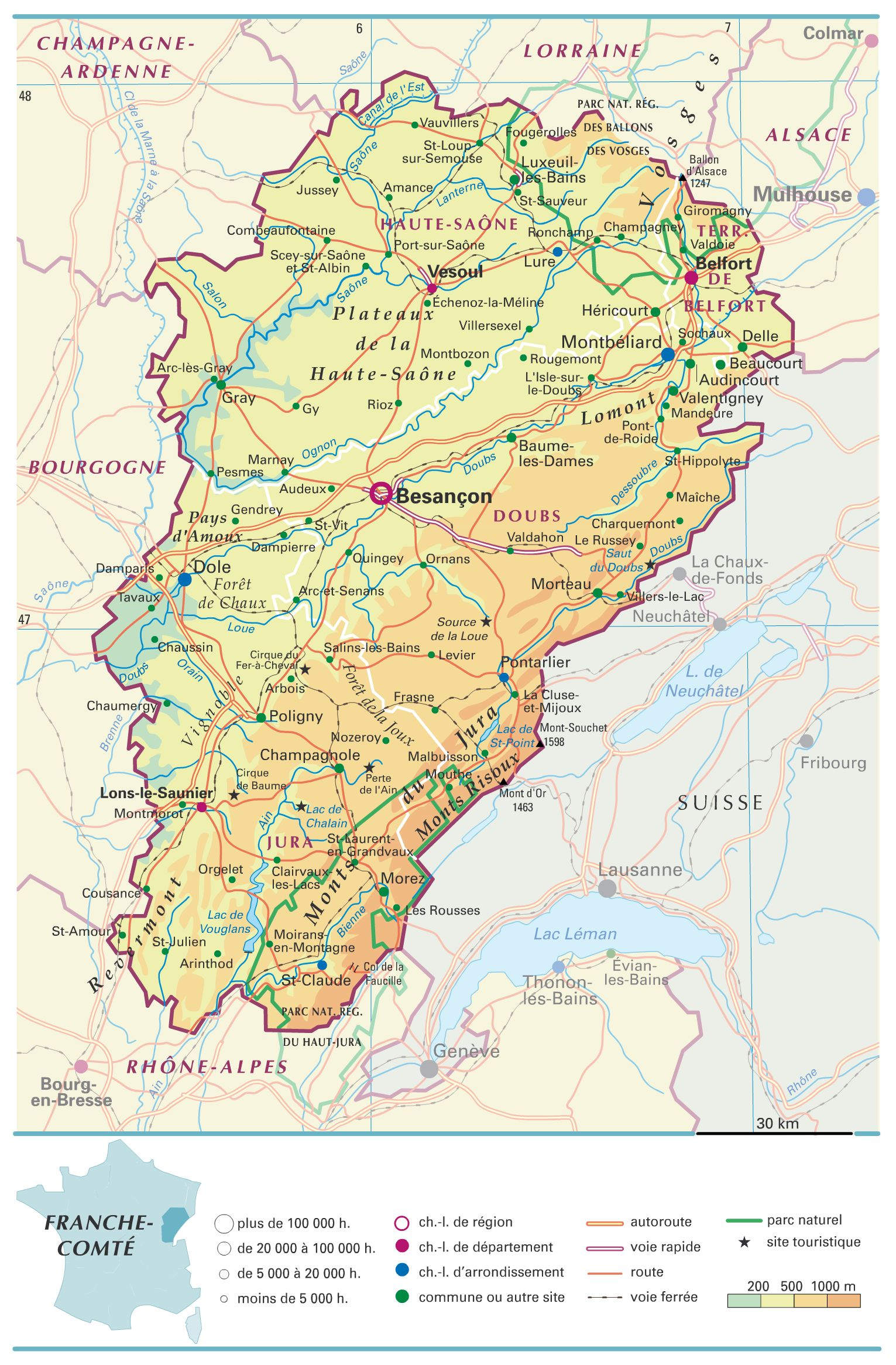 Geolocalisation Des Villes De France