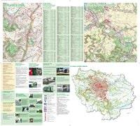 Carte de l'Île-de-France et des pistes cyclables