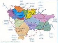 Carte de l'Île-de-France pour la protection des rivières
