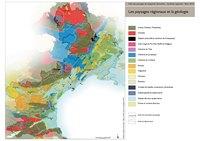 Carte géologique du Languedoc-Roussillon
