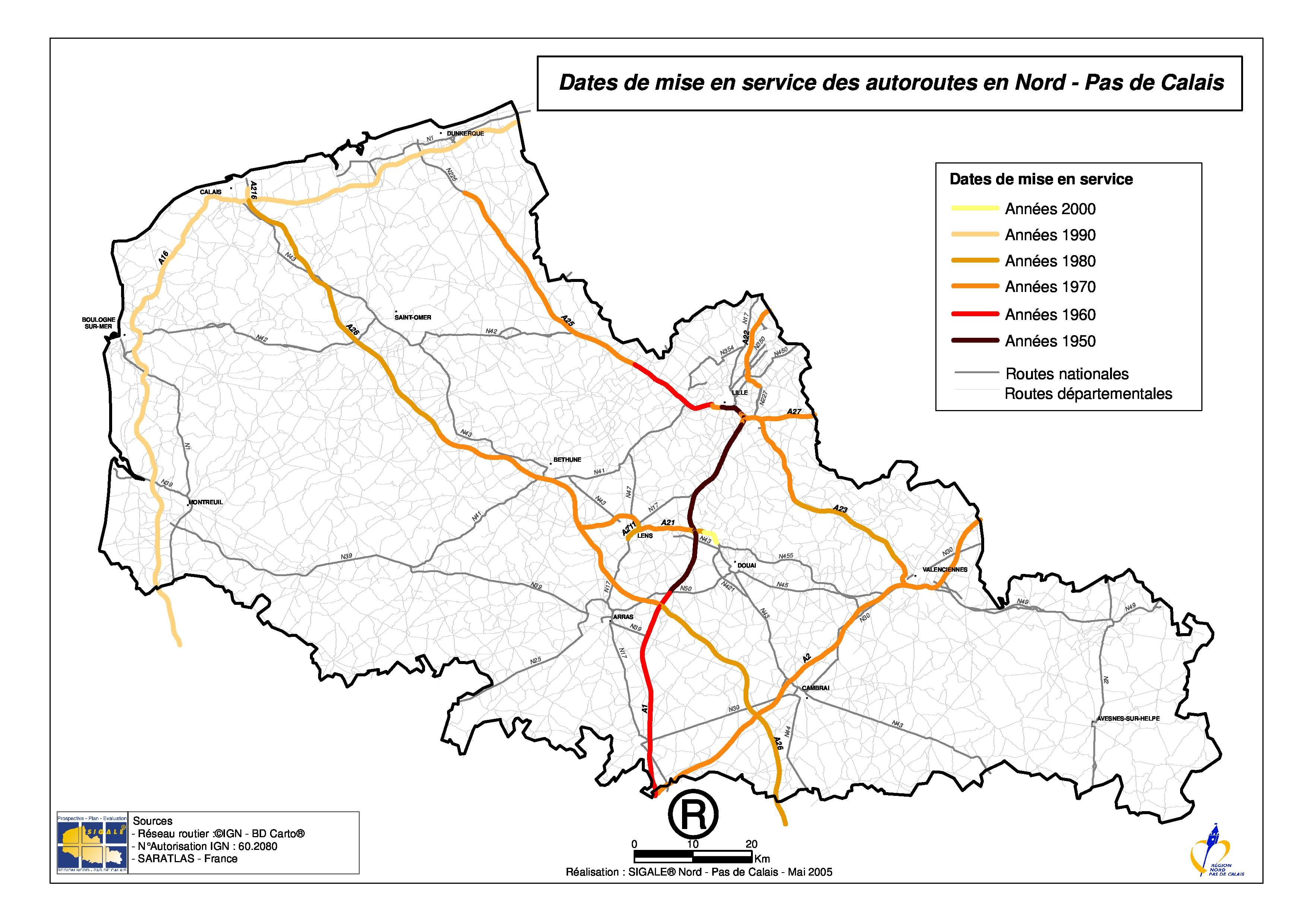 Cartograffr Les Régions De France Le Nord Pas De Calais