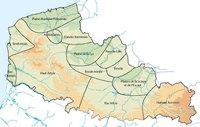 Carte du Nord-Pas-de-Calais avec les éco-complexes