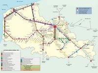 Carte du Nord-Pas-de-Calais avec les trains, les TER et les gares