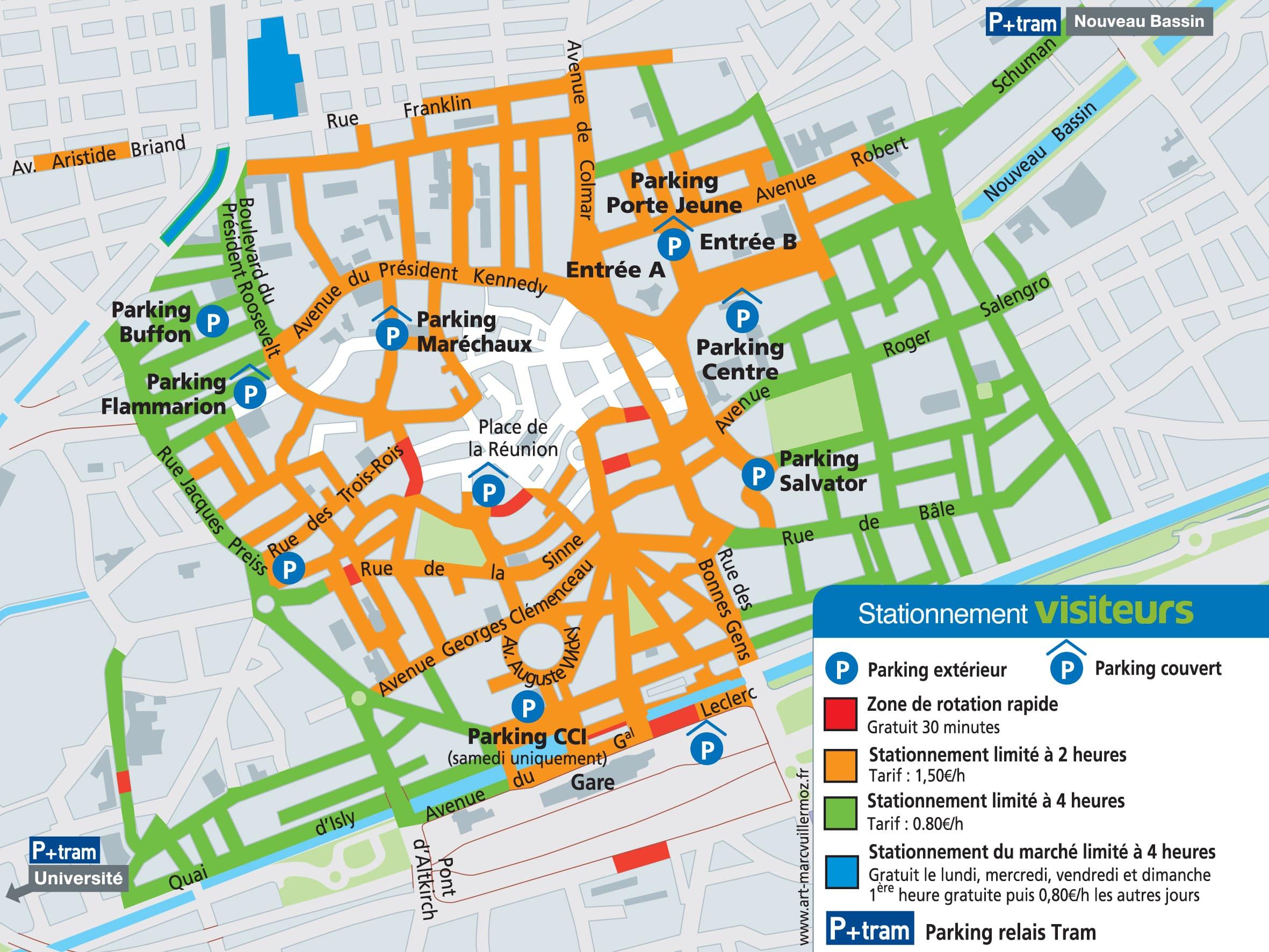 Plan Touristique Ville Belfort