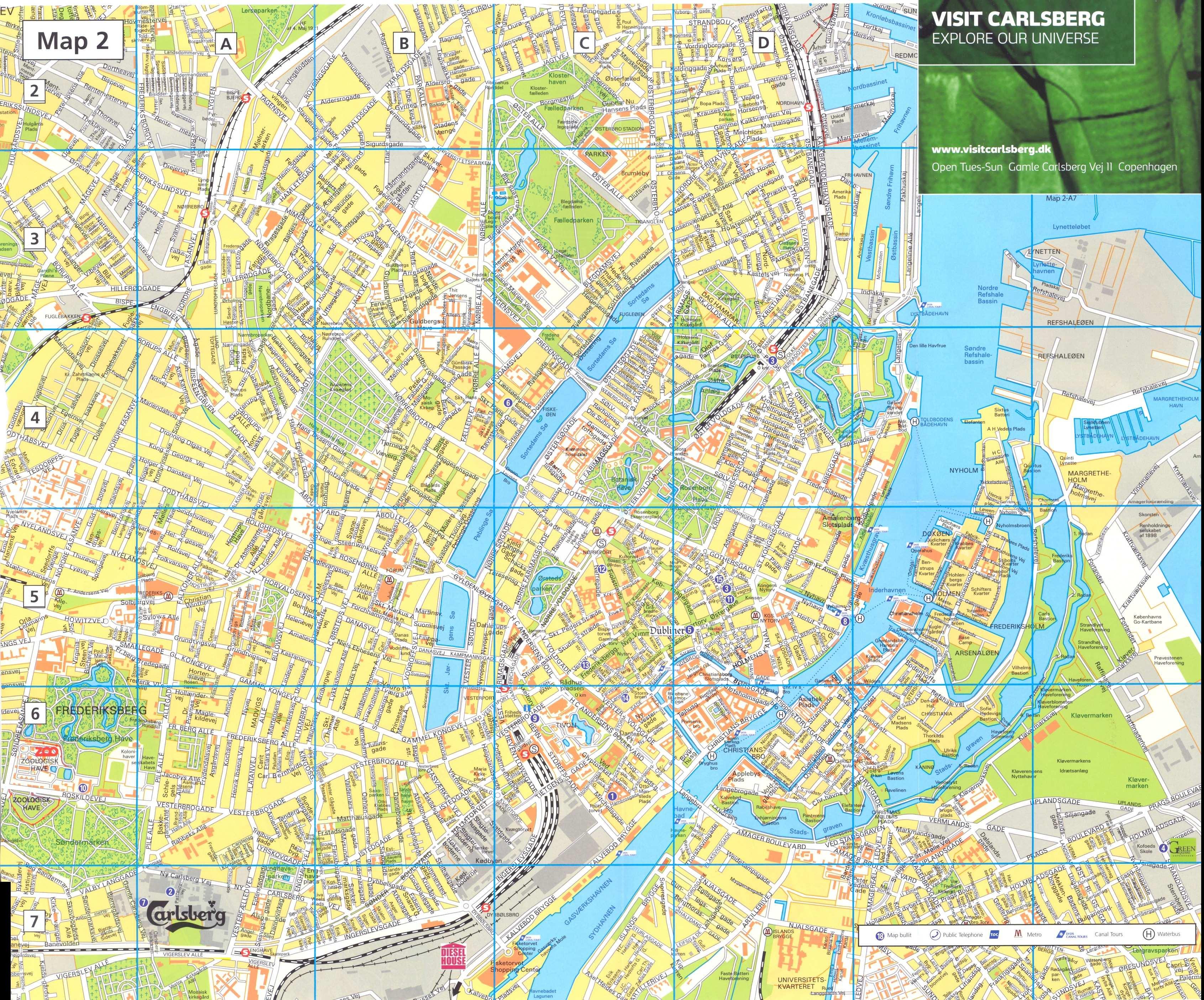Cartograf Fr Les Villes Copenhague