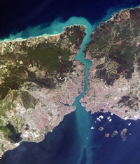 Carte de Istanbul photo satellite