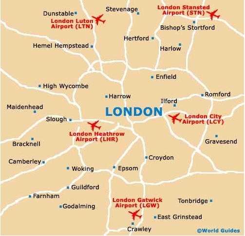Cartograf.fr : Carte Londres