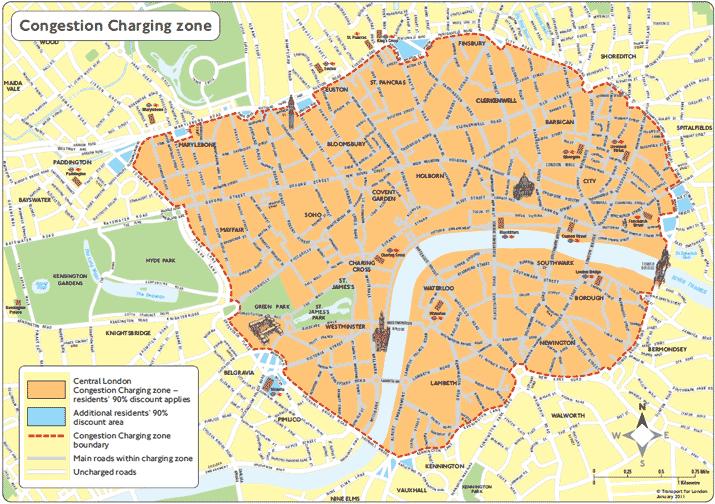 Plan londres centre ville gratuit | astuces voyages