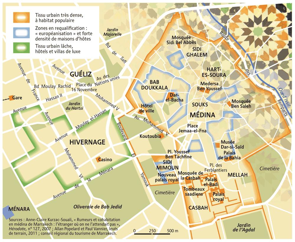 Cartograf.fr : Carte de Marrakech : page 2