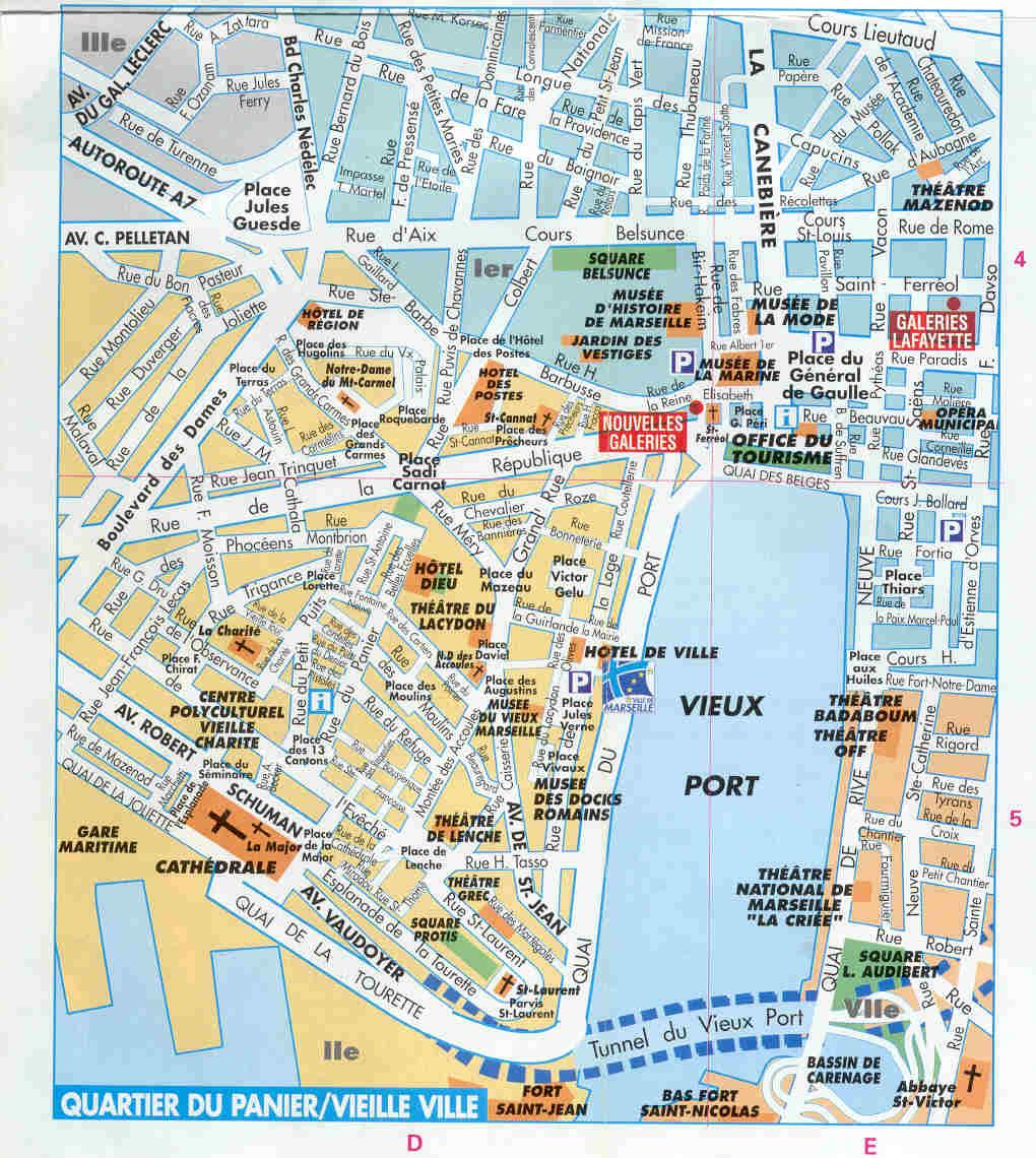Plan Centre Ville Marseille Pdf